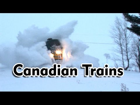 Thumbnail: Via Rail Canada, Winter