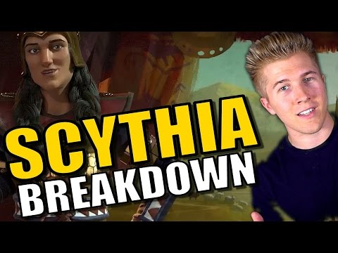 Civilization 6: Gameplay - Scythia  [Leader Tips & Strategy Breakdown]