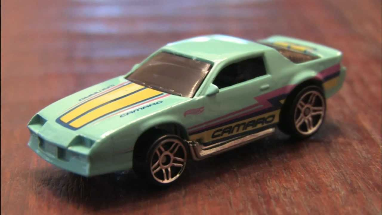 1980's CAMARO Z28 Cars of the Decades Hot Wheels review by ...