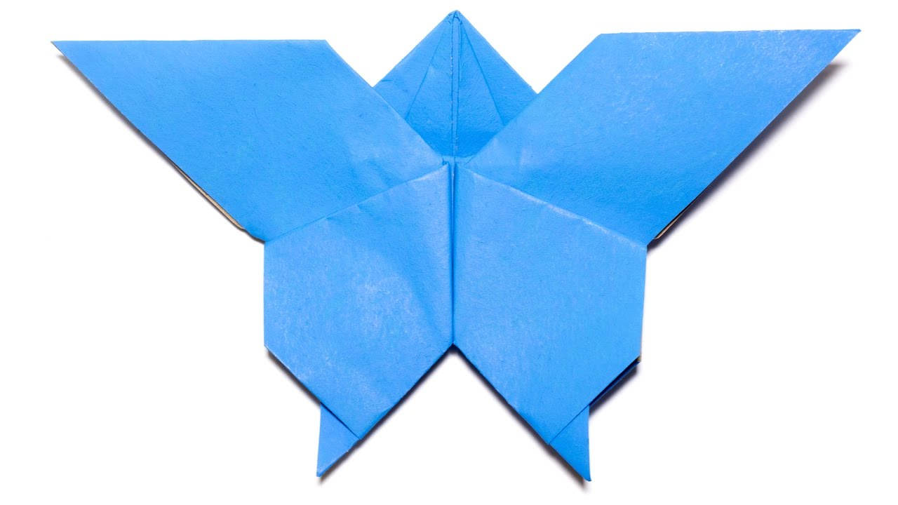 Origami Butterfly Easy For Kids And Beginners