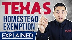 Texas Homestead Exemption Explained  [Updated 2019]