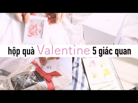 5 Senses Valentine Gift Box (Unique Gift Ideas)