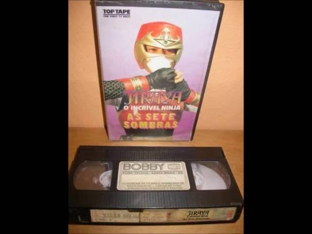 Fitas VHS e Revistas Jaspion, Jiraya, Changeman, Cybercops, Flashman, Spielvan e cia - Tokusatsus