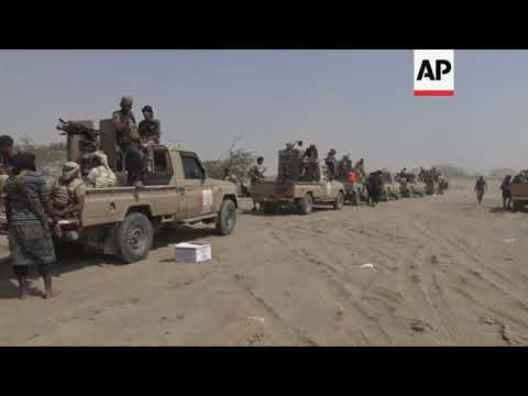 Saudi-led coalition pound Houthi positions in Hodeida