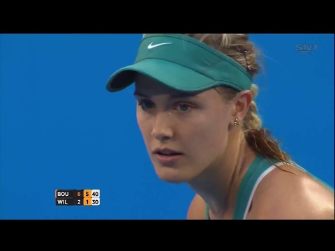genie bouchard best match - watch justin bieber with eugenie bouchard! | tennis match