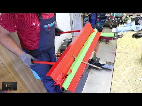 BRILLIANT HOMEMADE DIY TOOL IDEA (Sheet Metal Bending Brake