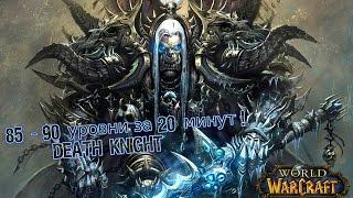 Прокачка с 85 до 90 уровня за 20 минут! World of Warcraft