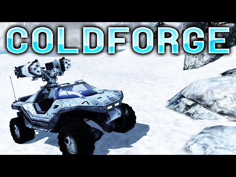 Halo Reach PC Mod - SNOW FORGE WORLD (ColdForge)