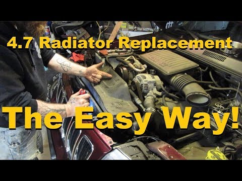 Jeep Radiator Replacement – HOW TO