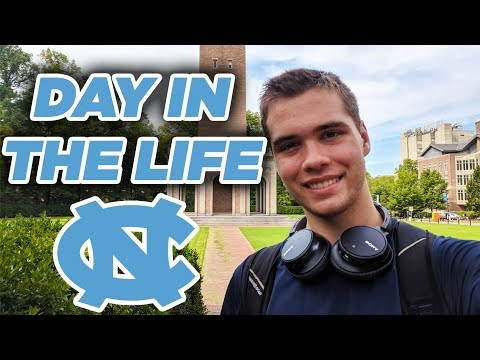 A Day In The Life Of A College Student At UNC Chapel Hill