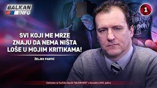 INTERVJU: Željko Pantić - Svi koji me mrze znaju da nema ništa loše u mojim kritikama! (30.12.2019)