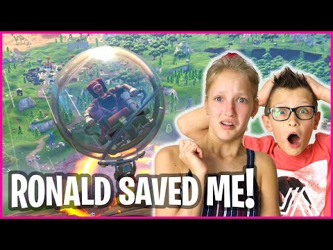 PLAYING FORTNITE WITH RONALD!!!