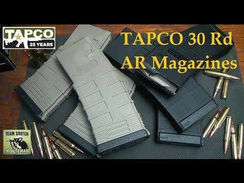 Tapco AR-15 Gen 2 Magazine Review and Torture Test