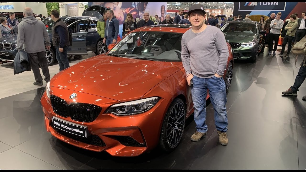 Bmw M2 Competition Sport Coupe Sunset Orange Model 2019 Walkaround And Interior