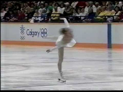 Kira Ivanova (URS) - 1988 Calgary, Ladies' Short Program