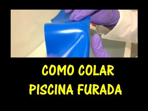 Como colar piscina de pl stico youtube for Albercas de plastico para ninos