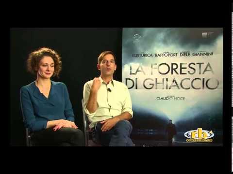 Ksenia Rappoport e Claudio Noce, intervista per La Foresta di Ghiaccio, RB Casting