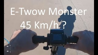 Test commenté E-Twow Monster