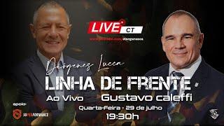 Linha de Frente com Diógenes Lucca - Convidado Gustavo Caleffi