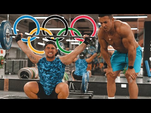 Bodybuilder Vs Olympic Weightlifter **BAD IDEA**