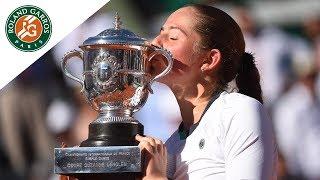 Match of the day #13 - Jelena Ostapenko v Simona Halep Women's Final   Roland-Garros 2017