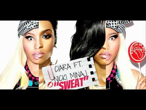 Ciara Ft. Nicki Minaj - Sweat (New Single) 2012