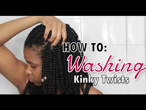 How to Wash your Kinky/Marley Twists