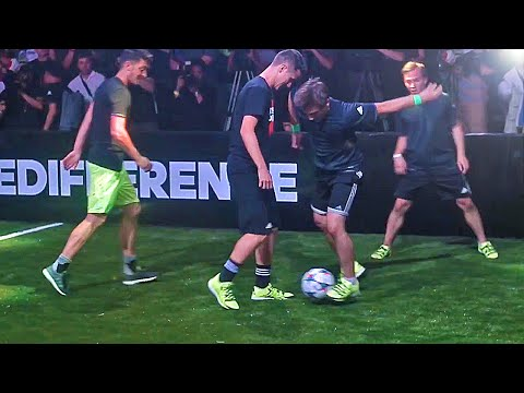 Thumbnail: Herrera & Özil vs SkillTwins ✖ Football Skill Match