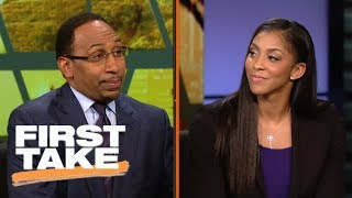 Candace Parker says LaVar Ball's actions are 'giving players power' | First Take | ESPN
