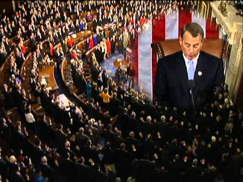 Swearing in of the 112th Congress