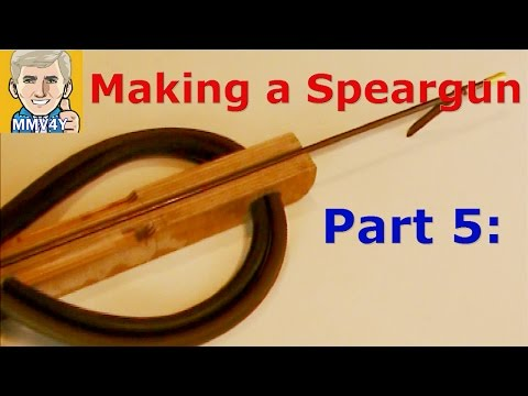 How To Make A Wooden Speargun - Part 5