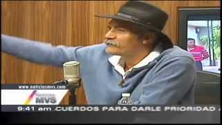 El Dr. Mireles por primera vez en el estudio de Noticias MVS con Carmen Aristegui