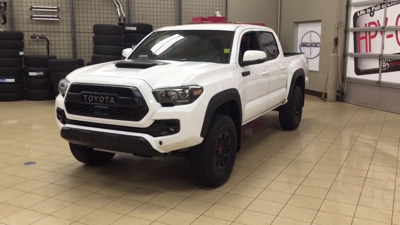 2018 toyota tacoma trd pro review youtube. Black Bedroom Furniture Sets. Home Design Ideas