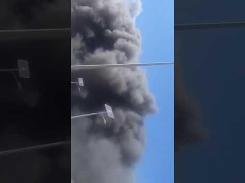 incendie au Port de rades le 14 06 2017 ; incendie depot