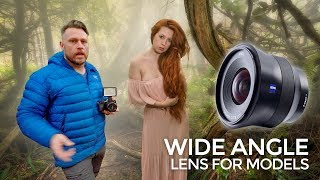 Wide Angle Lens Photography for Models and Landscapes