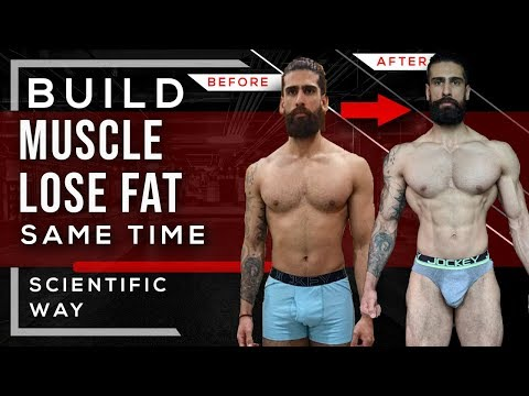 BUILD MUSCLE And LOSE FAT At The Same Time | Body Recomposition Tips for Fat Loss