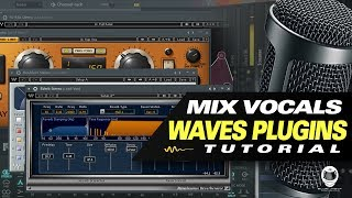 👨‍🚀 HOW TO MIX VOCALS WITH WAVES PLUGINS (TUTORIAL)