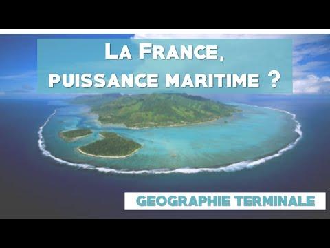 [Terminales géo] La France, puissance maritime?