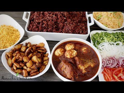 authentic-ghanaian-waakye-feast---detailed-waakye-stew-&-more---cook-with-me---ghana-street-food