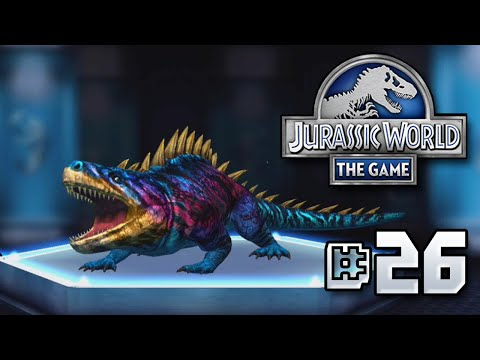 Evolution Time    Jurassic World - The Game - Ep 26 HD