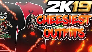 BEST CHEAP OUTFITS IN NBA 2K19! SAVE 100,000 VC AND LOOK LIKE A GOAT DAY 1!😱 NBA 2K19 PLAYGROUND