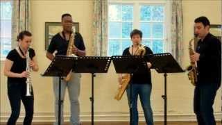 Voi Che Sapete – saxophone quartet music