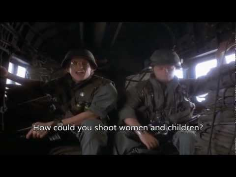 Full Metal Jacket- Kill Women and Children with subtitles