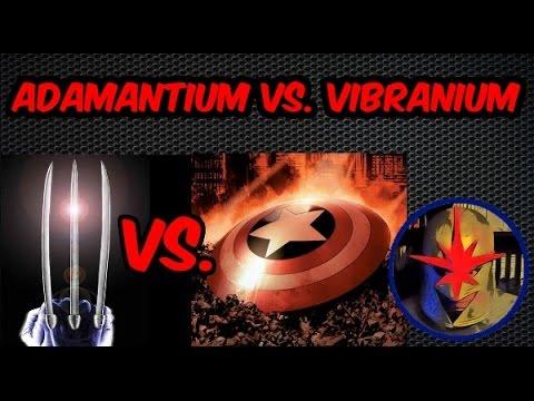 Adamantium, Vibranium i inne metale Marvela.
