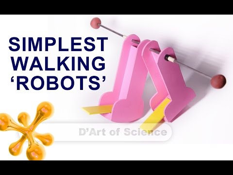 Bipedal Robot - Cool DIY Science Experiment - dartofscience