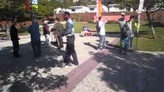 California State University East Bay Students vs. Preachers 11-14-11 Part 1