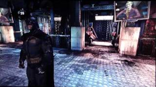 Batman Arkham Asylum HD Demo playthrough pt1