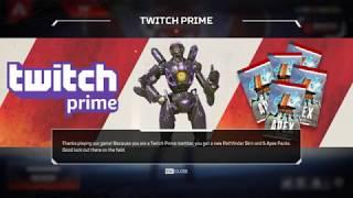 Apex Legends Обхід Twitch Prime і отримання Скінів Безкоштовно !!!