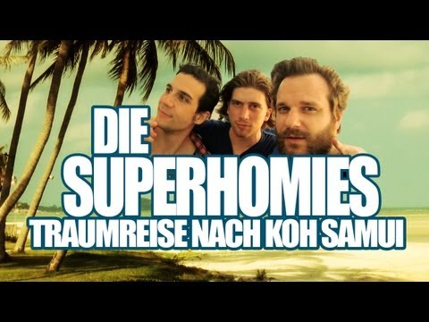 Die Superhomies in Thailand - Traumreise nach Koh Samui (mit Gronkh, Sarazar und Daniele)