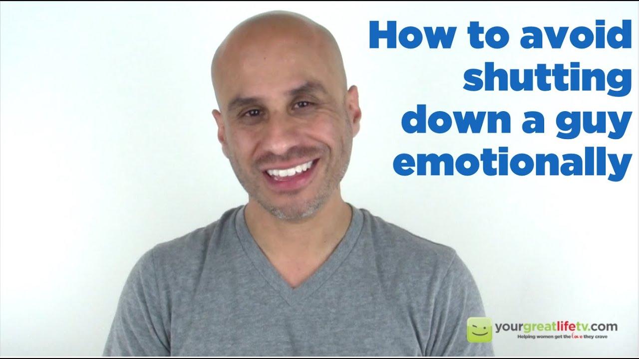 why do guys shut down emotionally